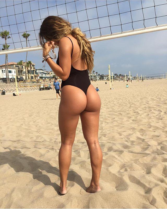 Mandy lynn bent over ass