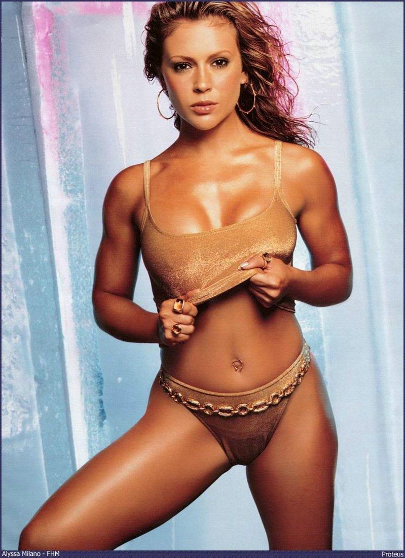 Alyssa Milano Nua alyssa milano charmed nude pics