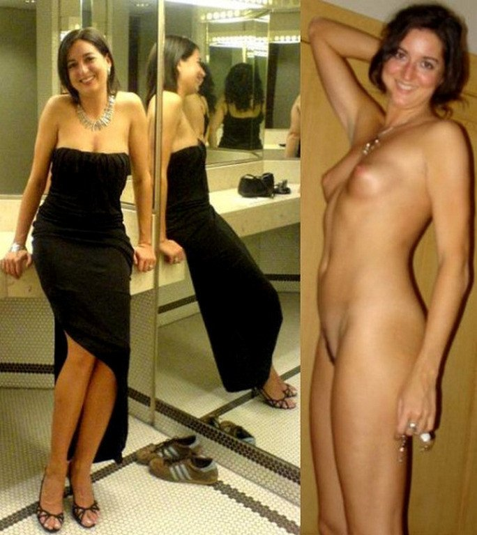 Correctly. Brilliant wives dressed and undressed nude think, that