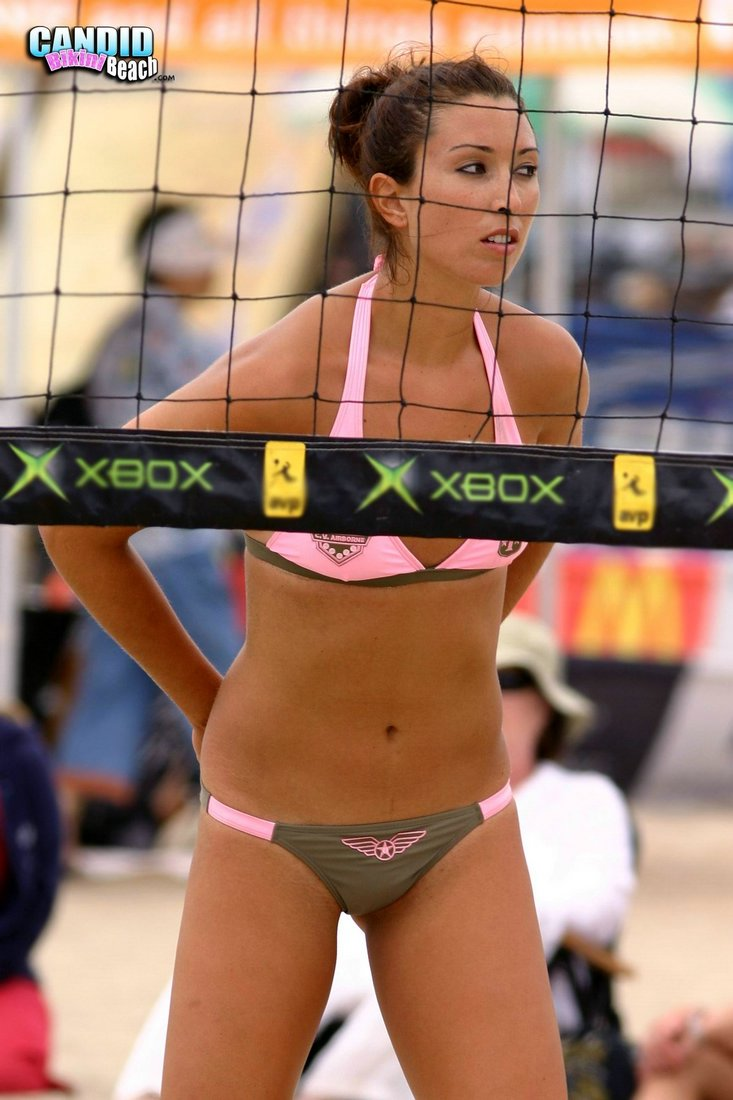 Dump volleyball ass
