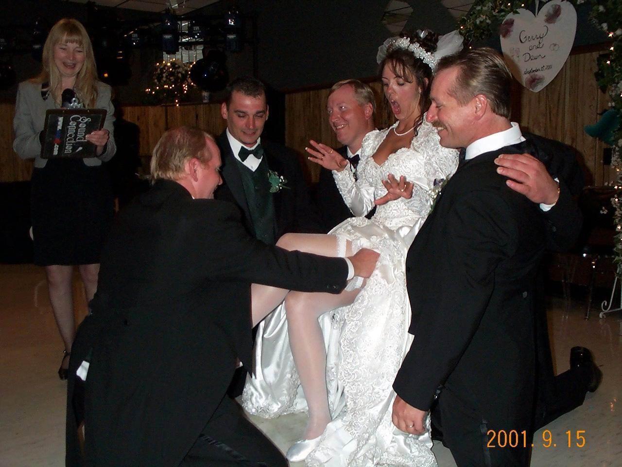 Трусы на свадьбе у невесты 20 фотография