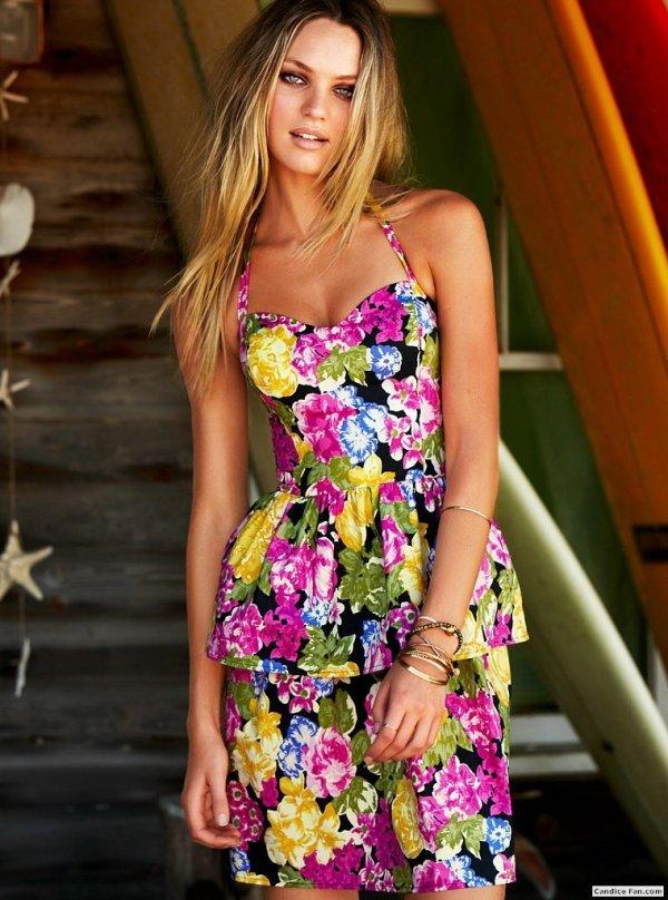 Летние платья, цветы